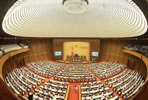 Kỳ họp thứ Nhất, Quốc hội khóa XV: kiện toàn nhân sự, quyết định các kế hoạch phát triển kinh tế - xã hội quan trọng - ảnh 1