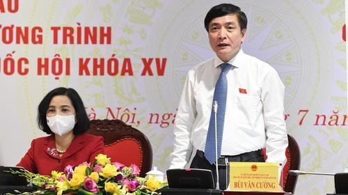 Kỳ họp thứ Nhất, Quốc hội khóa XV: kiện toàn nhân sự, quyết định các kế hoạch phát triển kinh tế - xã hội quan trọng - ảnh 2