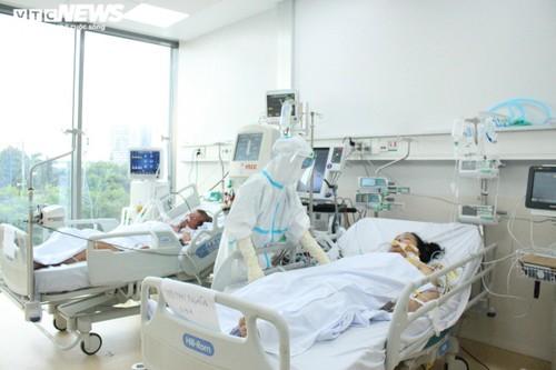 154 bệnh nhân COVID-19 tử vong từ ngày 8/7 đến ngày 25/7/2021 - ảnh 1