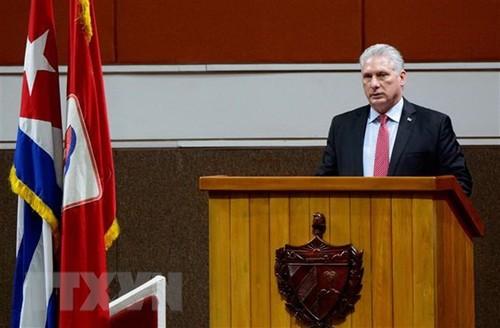 Chủ tịch Cuba đăng thông điệp tri ân Việt Nam và bạn bè quốc tế - ảnh 1
