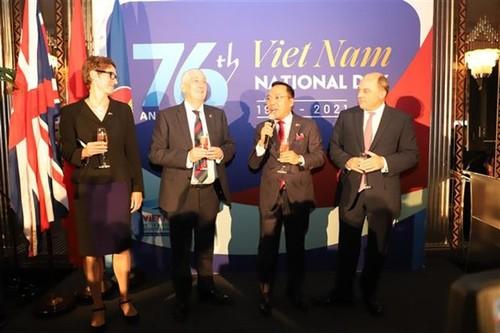 Đại sứ quán Việt Nam tại Liên hiệp Vương quốc Anh và Bắc Ireland tổ chức lễ kỷ niệm Quốc khánh  - ảnh 1
