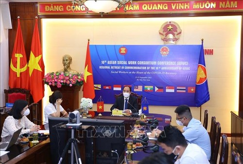 Nhân viên công tác xã hội ASEAN là trung tâm của quá trình phục hồi sau Covid-19 - ảnh 1
