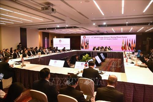 东盟外长会联合公报强调促进和维护东海和平与稳定的重要性 - ảnh 1