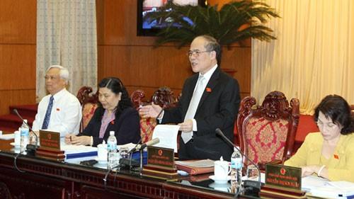 Khai mạc phiên họp thứ 20 Ủy ban Thường vụ Quốc hội - ảnh 1
