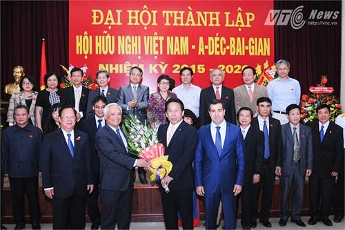 Thành lập Hội hữu nghị Việt Nam - Azerbaijan  - ảnh 1
