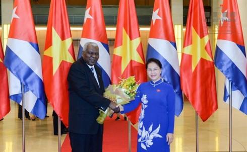 Chủ tịch Quốc hội Cộng hòa Cuba kết thúc tốt đẹp chuyến thăm chính thức Việt Nam - ảnh 1