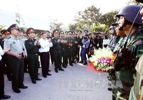 Giao lưu hữu nghị Quốc phòng biên giới Việt Nam – Trung Quốc lần thứ 4 năm 2017 - ảnh 1