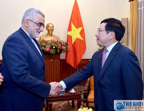Tăng cường hợp tác kinh tế - thương mại giữa Việt Nam và Iran - ảnh 1