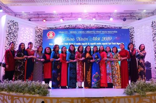 Tỉnh Thái Nguyên tổ chức chương trình chào xuân gặp mặt kiều bào và người nước ngoài nhân dịp xuân Kỷ Hợi 2019 - ảnh 2