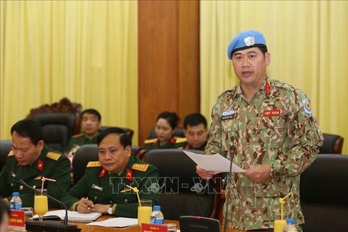 Thêm một sĩ quan Việt Nam đi làm nhiệm vụ gìn giữ hòa bình tại Nam Sudan - ảnh 1