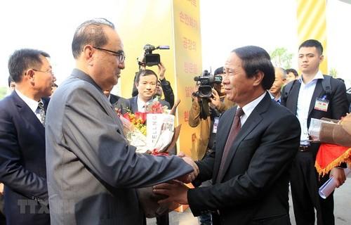Đoàn đại biểu Lãnh đạo cấp cao Đảng Lao động Triều Tiên thăm thành phố Hải Phòng - ảnh 1