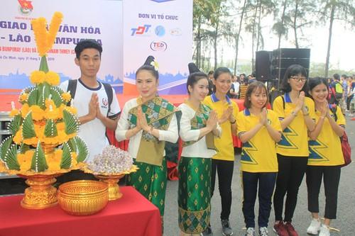 Ngày hội Giao lưu văn hóa Việt Nam - Lào - Campuchia - ảnh 1