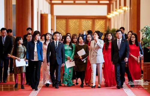 Đại hội lần thứ VII Hội sinh viên Việt Nam tại Hàn Quốc - ảnh 3