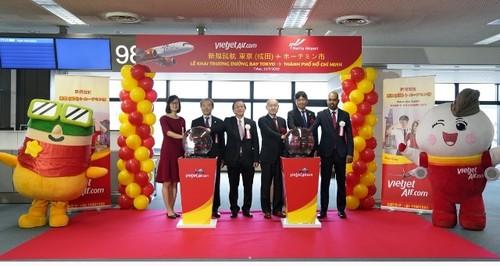 Vietjet mở đường bay Thành phố Hồ Chí Minh - Tokyo - ảnh 1