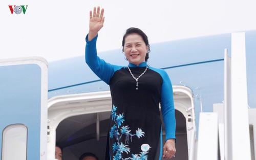 Chủ tịch Quốc hội Nguyễn Thị Kim Ngân kết thúc tốt đẹp chuyến thăm chính thức Trung Quốc - ảnh 1