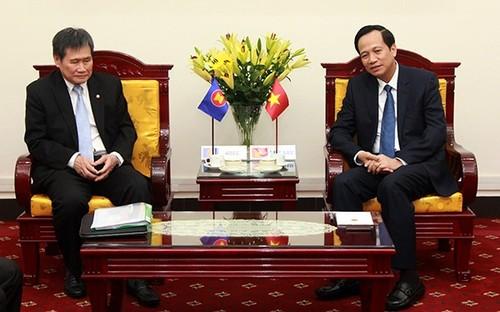 Việt Nam tích cực chuẩn bị nội dung thúc đẩy hợp tác văn hóa – xã hội trong ASEAN - ảnh 1