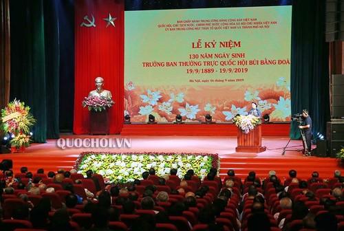 Chủ tịch Quốc hội Nguyễn Thị Kim Ngân dự Lễ kỷ niệm 130 năm Ngày sinh cụ Bùi Bằng Đoàn, nguyên Chủ tịch Quốc hội VN - ảnh 2