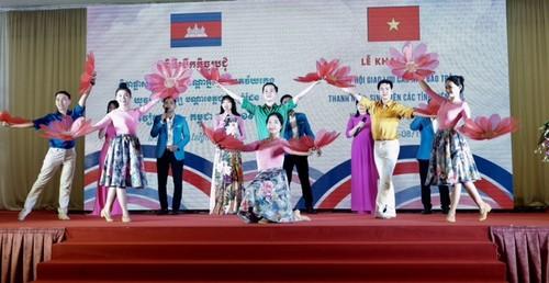 Khai mạc Ngày hội giao lưu các nhà báo trẻ, thanh niên, sinh viên các tỉnh biên giới Việt Nam - Campuchia  - ảnh 1