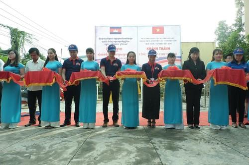 Ngày hội giao lưu các nhà báo trẻ, thanh niên, sinh viên các tỉnh biên giới Việt Nam – Campuchia năm 2019  - ảnh 3