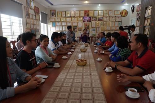 Thanh niên Việt Nam – Campuchia thăm mô hình kinh tế tiêu biểu tỉnh Tây Ninh - ảnh 1