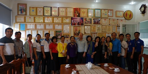 Thanh niên Việt Nam – Campuchia thăm mô hình kinh tế tiêu biểu tỉnh Tây Ninh - ảnh 2