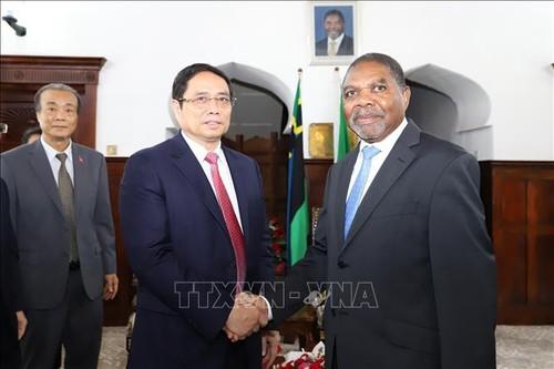 Trưởng Ban tổ chức TW Phạm Minh Chính thăm, làm việc tại Tanzania - ảnh 1