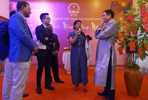 Đại sứ quán Việt Nam tại Bangladesh tổ chức Tết cộng đồng xuân Canh Tý 2020 - ảnh 10