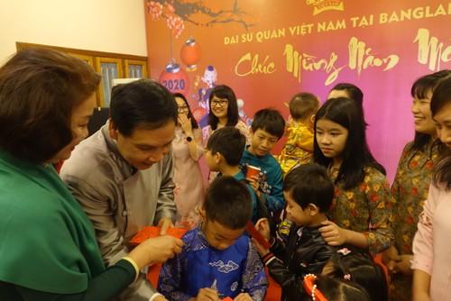 Đại sứ quán Việt Nam tại Bangladesh tổ chức Tết cộng đồng xuân Canh Tý 2020 - ảnh 7
