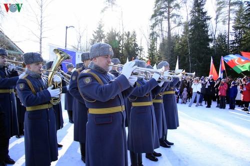 Việt Nam dự giải thể thao mùa đông các cơ quan ngoại giao tại Nga  - ảnh 1