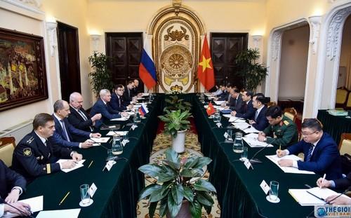 Việt Nam - Liên bang Nga tăng cường hợp tác tại các diễn đàn khu vực và quốc tế - ảnh 1
