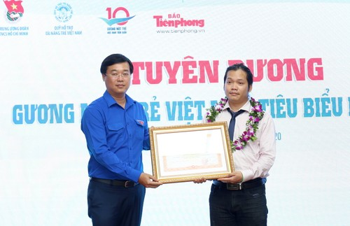 Tuyên dương 10 Gương mặt trẻ Việt Nam tiêu biểu năm 2019 - ảnh 2