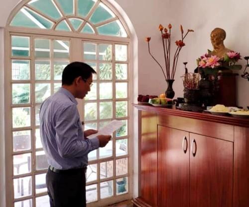 Đại sứ quán Việt Nam tại Venezuela dâng hương nhân ngày Giỗ tổ Hùng Vương - ảnh 1
