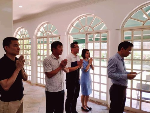 Đại sứ quán Việt Nam tại Venezuela dâng hương nhân ngày Giỗ tổ Hùng Vương - ảnh 2
