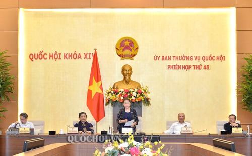 Phiên họp thứ 45 (đợt 2) của Ủy ban Thường vụ Quốc hội dự kiến diễn ra trong ngày 01/06 - ảnh 1