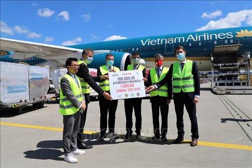 Thành phố Leipzig đánh giá cao sự hỗ trợ của doanh nghiệp Việt Nam trong phòng chống đại dịch COVID-19 - ảnh 1