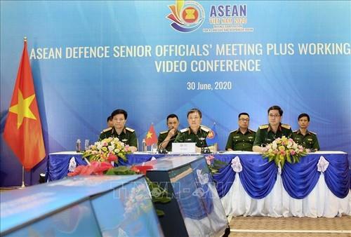 ASEAN 2020: Hội nghị trực tuyến Nhóm làm việc Quan chức Quốc phòng cấp cao ASEAN mở rộng  - ảnh 1
