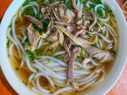 Bún vịt của người Tày ở Hà Giang - ảnh 1