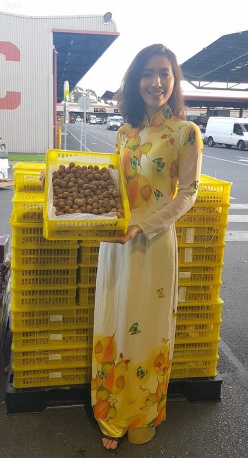 Nhãn tươi Việt Nam được thị trường Australia ưa chuộng  - ảnh 1