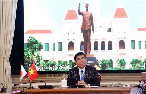 Thành phố Hồ Chí Minh và tỉnh Aichi (Nhật Bản) tăng cường hợp tác qua gặp gỡ trực tuyến - ảnh 1