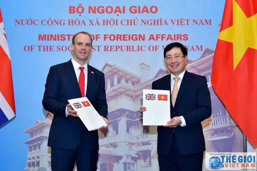 Việt Nam – Vương quốc Anh nhất trí tăng cường hợp tác trên nhiều lĩnh vực - ảnh 2