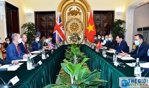 Việt Nam – Vương quốc Anh nhất trí tăng cường hợp tác trên nhiều lĩnh vực - ảnh 1