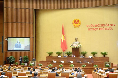 Quốc hội thảo luận dự thảo Luật Bảo vệ môi trường (sửa đổi) - ảnh 1