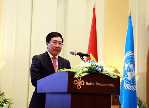 75 năm thành lập Liên hợp quốc: Việt Nam cam kết thúc đẩy chủ nghĩa đa phương cùng Liên hợp Quốc - ảnh 1