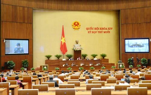 Quốc hội thảo luận Nghị quyết về tham gia lực lượng gìn giữ hòa bình của Liên hợp quốc - ảnh 1
