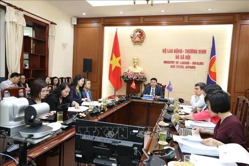 Hội nghị Bộ trưởng lao động ASEAN lần thứ 26 ra Tuyên bố chung - ảnh 2