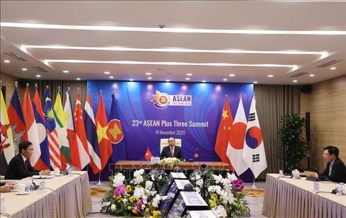 ASEAN+3 nâng cao tự cường kinh tế và tài chính trước những thách thức đang nổi lên - ảnh 1