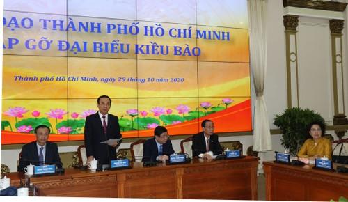 Ủy ban về Người Việt Nam ở nước ngoài Thành phố Hồ Chí Minh thực hiện tốt vai trò cầu nối giữa kiều bào với trong nước - ảnh 3