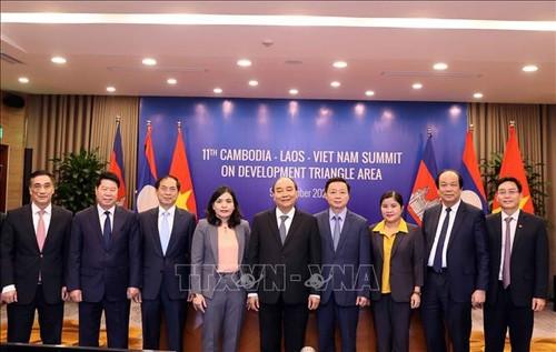 Hợp tác tại Khu vực Tam giác Phát triển Campuchia - Lào - Việt Nam ngày càng được tăng cường - ảnh 1
