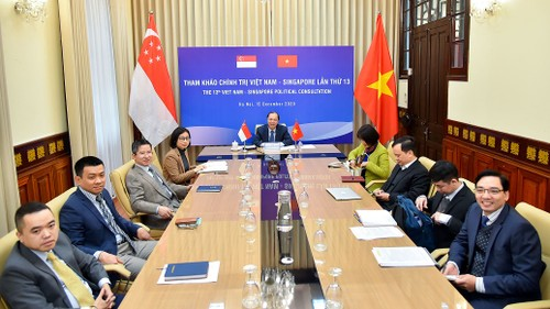 Việt Nam - Singapore hướng tới thực hiện mục tiêu kép về ngăn chặn đại dịch và phục hồi bền vững - ảnh 1