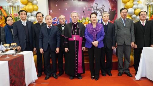 Lãnh đạo Đảng, Nhà nước, Quốc hội chúc mừng nhân dịp Giáng sinh và năm mới 2021 - ảnh 2